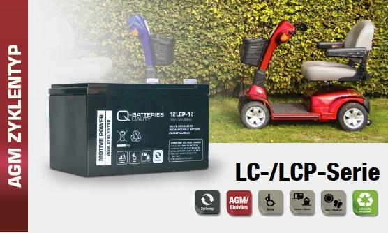 Q-Batteries LC Typen