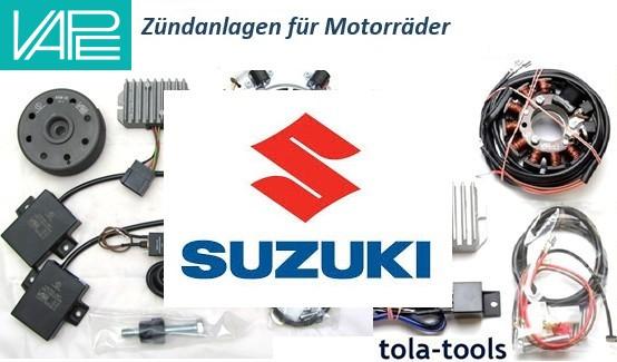 VAPE Powerdynamo Zündanlagen für Suzuki