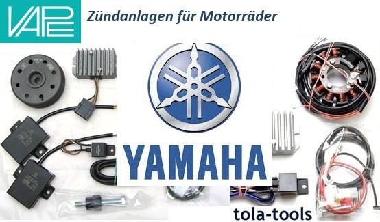VAPE Powerdynamo Zündanlagen für Yamaha