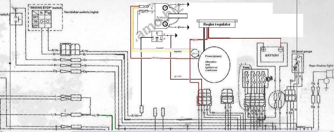 VAPE%20Schaltplan%20Yamaha%20RD250%20Originalplan%20plus%20VAPE Yamaha Scooter Cdi Wiring Diagram on