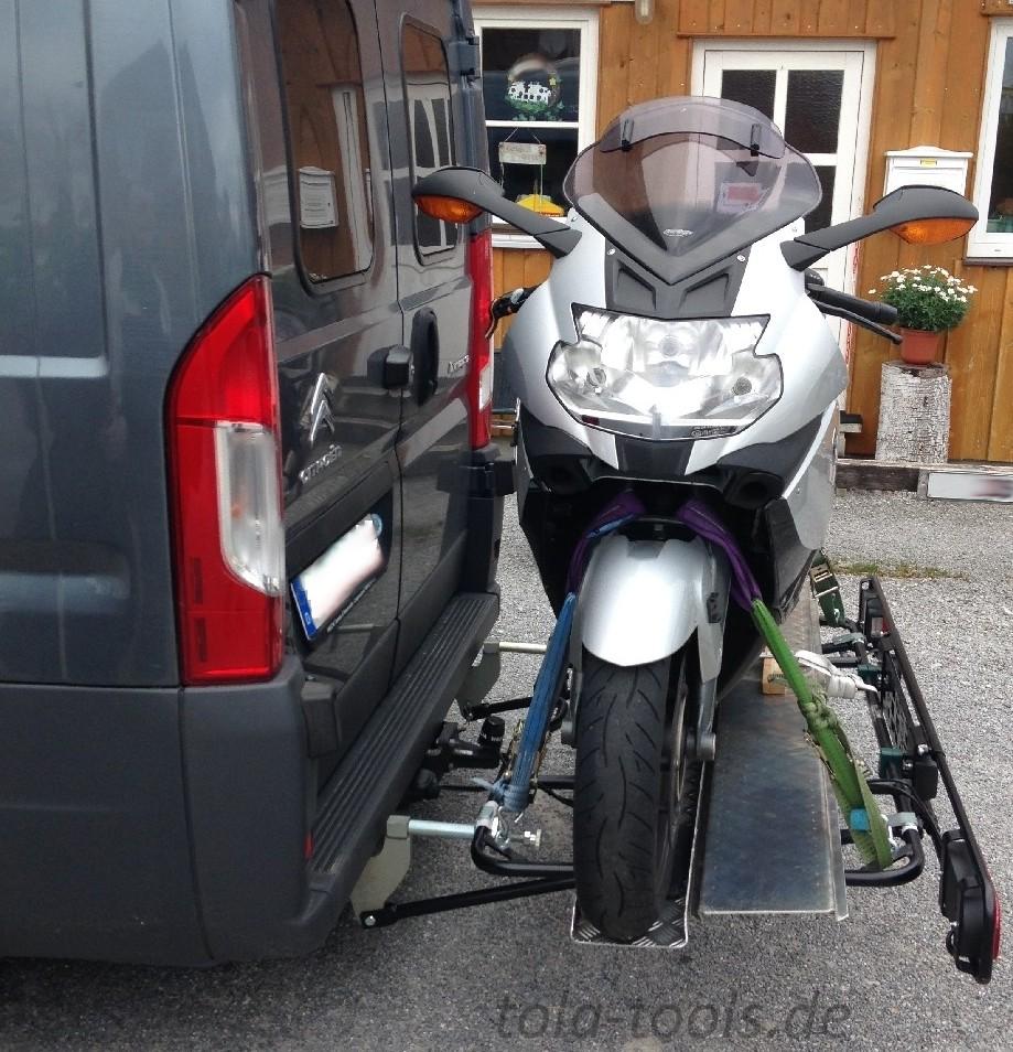 Motorradträger Hecklastenträger Heckträger  CATE Online Shop