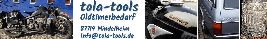tola-tools Oldtimerbedarf-Logo