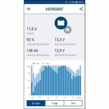 Votronic Energy Monitor App through Bluetooth-Connector S-BC - 1430