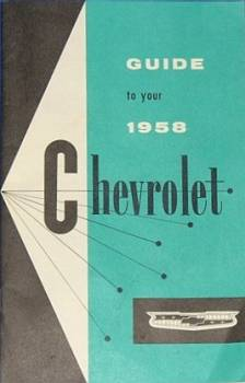 Chevrolet 1958 - Owner's Manual