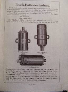 Bosch - Battery Ignition for Motorcars 1935