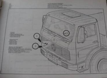 Mercedes Benz Type 381 - Parts catalog 1973