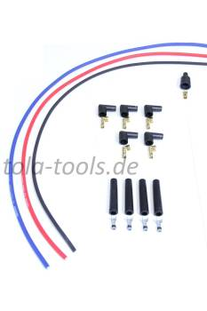 High performance ignition cable set 4-cylinder