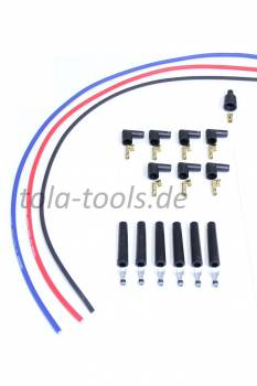 High performance ignition cable set 6-cylinder