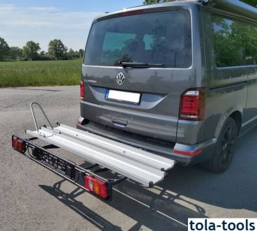 CATE carrier for motorcycle on VW T6