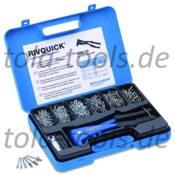 RIVQUICK Rivet Set incl. Tools