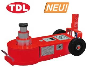 TDL - AJ45T3GFL Jacklift for heavy weights 45 ton - very low