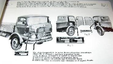 Mercedes Benz Parts Catalog >> Mercedes Benz Lp Lap 328 Parts Catalog 1961