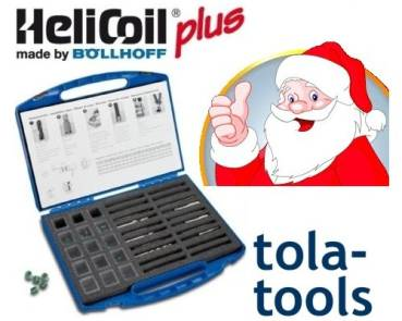 HELICOIL plus Repair Set M6-M8-M10 132pcs.