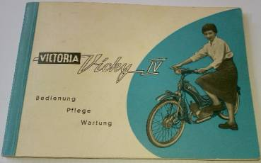 Viktoria Vicky IV - User Manual 1956
