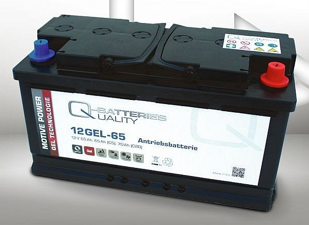 q batteries 12gel 65 12v 65ah battery online. Black Bedroom Furniture Sets. Home Design Ideas