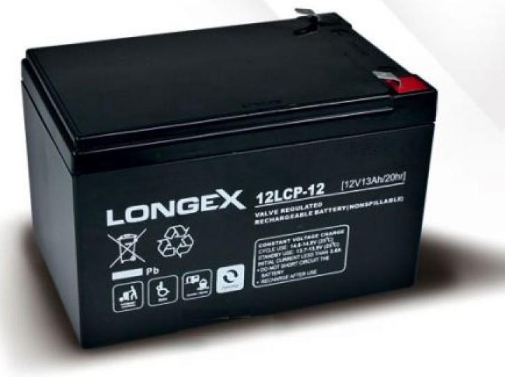 longex 12lcp 12 12v 13ah blei akku agm battery online. Black Bedroom Furniture Sets. Home Design Ideas