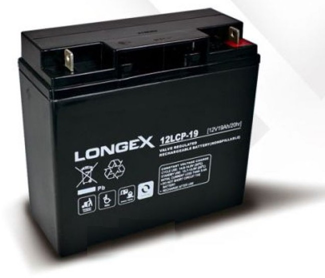 longex 12lcp 19 12v 19ah blei akku agm battery online. Black Bedroom Furniture Sets. Home Design Ideas