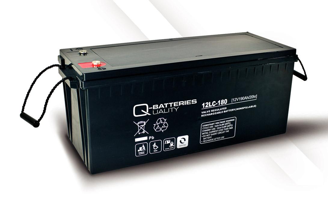 q batteries 12lc 180 agm 12v 193ah battery online. Black Bedroom Furniture Sets. Home Design Ideas