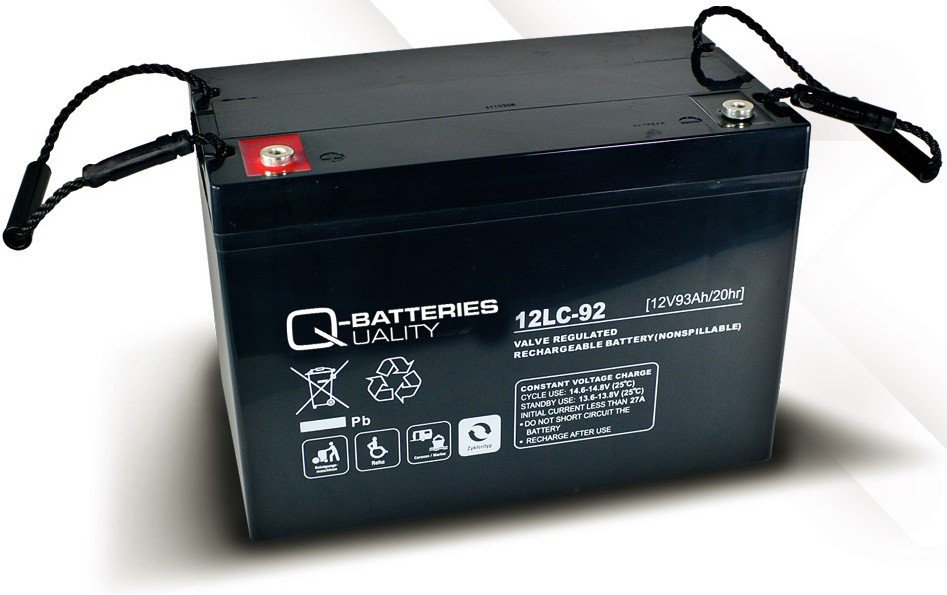q batteries 12lc 92 agm 12v 93ah battery online. Black Bedroom Furniture Sets. Home Design Ideas