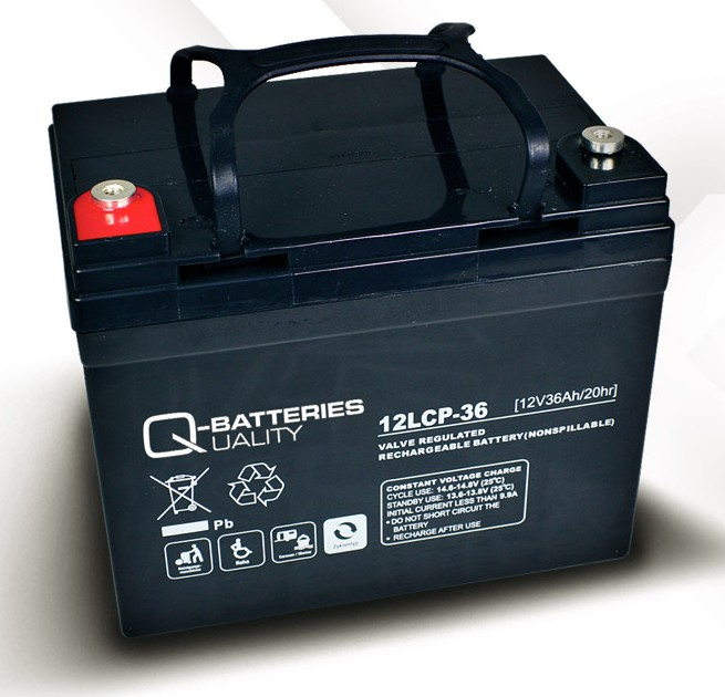 q batteries 12lcp 36 agm 12v 36ah battery online. Black Bedroom Furniture Sets. Home Design Ideas