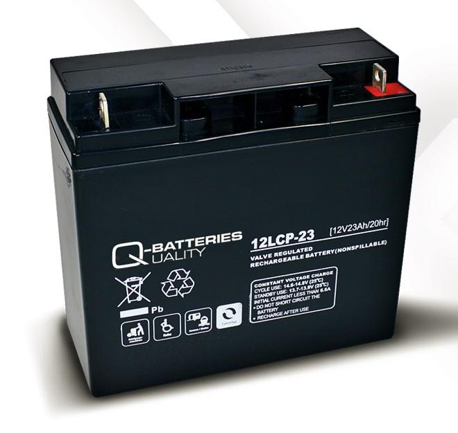 q batteries 12lcp 23 agm 12v 23ah battery online. Black Bedroom Furniture Sets. Home Design Ideas