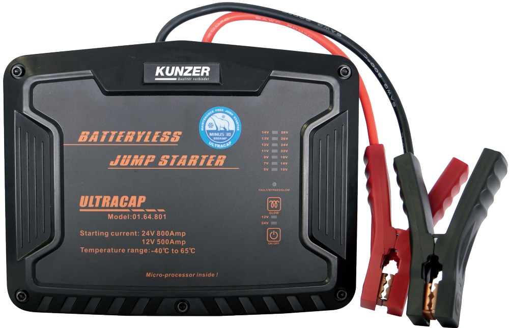 kunzer csc1224 batteryless jump starter kunzer online shop. Black Bedroom Furniture Sets. Home Design Ideas
