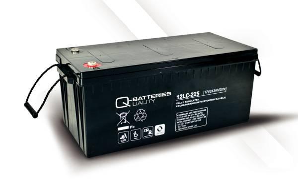 q batteries 12lc 225 agm 12v 243ah battery online. Black Bedroom Furniture Sets. Home Design Ideas