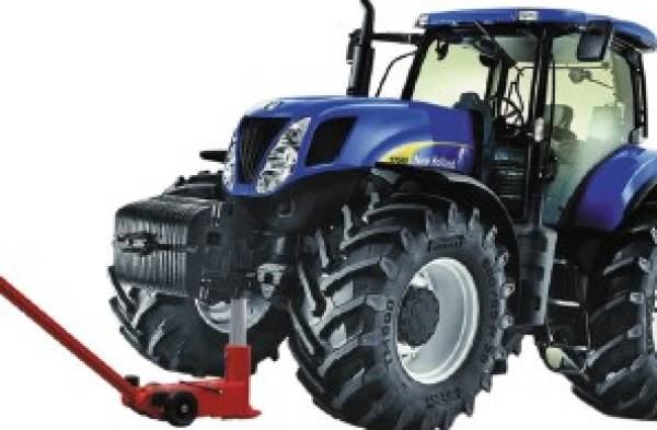 rangierwagenheber traktor