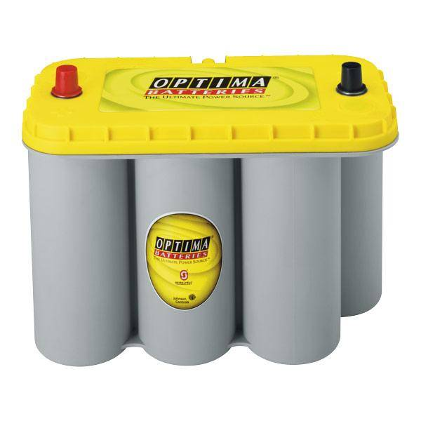 Optima YTS 5.5 Yellow Top - 12V/75Ah AGM-Battery for Yacht&Caravan